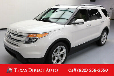 2015 Ford Explorer Limited Texas Direct Auto 2015 Limited Used 3.5L V6 24V Automatic FWD SUV