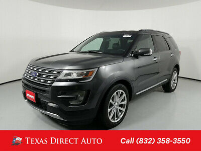 2016 Ford Explorer Limited Texas Direct Auto 2016 Limited Used Turbo 2.3L I4 16V Automatic FWD SUV