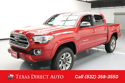 2017 Toyota Tacoma Limited Texas Direct Auto 2017 Limited Used 3.5L V6 24V Automatic 4WD Pickup Truck