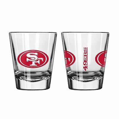 San Francisco 49ers Game Day Logo Shot Glass NEW