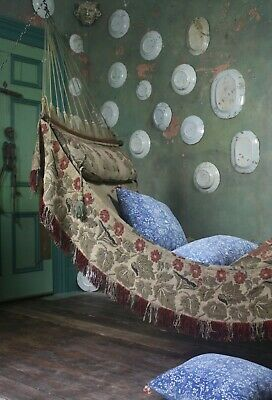 Early 20th Century Hammock, Daybed Country House Antique Campaign Furniture