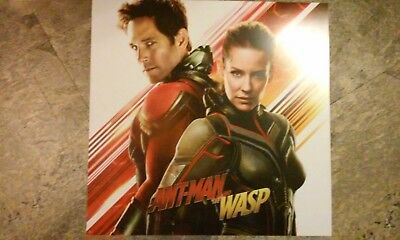 Ant-Man and the Wasp Movie Advertisement Poster,Vinyl/Plastic,14""