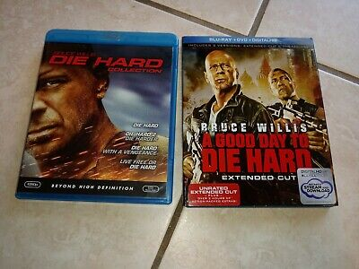 Die Hard: The Ultimate 5 Movie Collection Blu ray/DVD