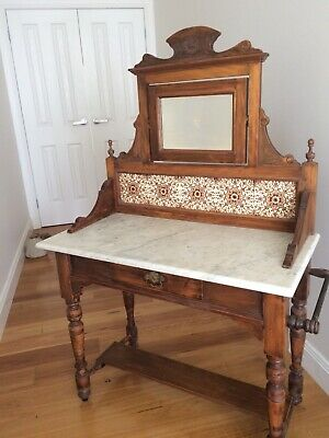 Antique Victorian Glass Display Cabinet