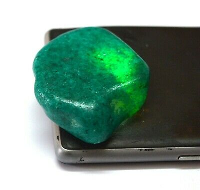 Natural Green Emerald Loose Gemstone 293.95 Ct Fancy Tumble Brazilian Super Sale