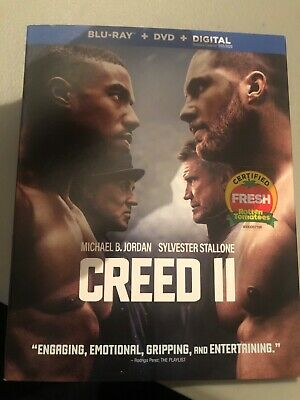 creed 2 blu ray, DVD With Slipcover No Digital