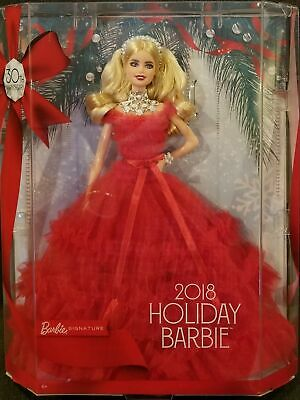 Barbie 2018 Holiday Signature Collector 30th Anniversary Doll~Blonde~Mint Box!