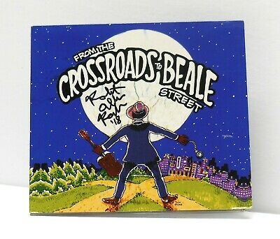SIGNED Robert Allen Parker From The Crossroads To Beale Street CD MEMPHIS BLUES