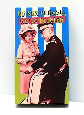 No Sex Please We're British 1973 VHS RARE OOP Comedy TESTED VG Cond. FAST SHIP