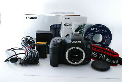 [NearMint]Canon EOS 7D Mark II 20.2MP Digital SLR Camera Body from Japan #5662