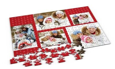 PERSONALISED JIGSAW PUZZLE A4 A3 PIECE Your photo Picture NAME TEXT GIFT