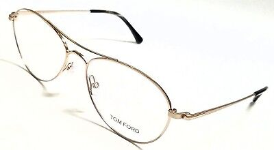 84ec4d9102 New Authentic Tom Ford TF5330 028 Shiny Rose Gold Unisex 54 16 145  Eyeglasses