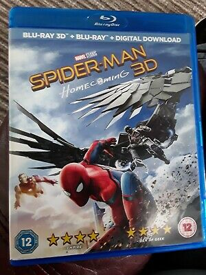 Spider-Man: Homecoming  3D (Blu-Ray) 2 Disc Set