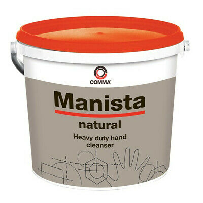 Heavy Duty Hand Cleanser with Perlite 10 Litre Tub Manista MAN10L