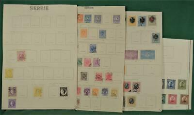 Serbia Stamps Early Selection On 6 Pages  (Y40)