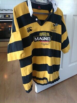 Wasps Rugby Jersey 3 xl retro made by Canterbury