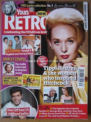 Yours Retro issue 14 Tippi Hedren Shirley Temple Cliff Richard George Best Cher