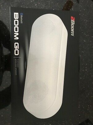2BOOM BOOM GO Wireless Bluetooth Portable Speaker with Built-In