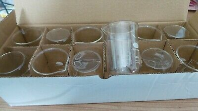12 x 100ml Borosilicate Glass Measuring Beaker (Academy)