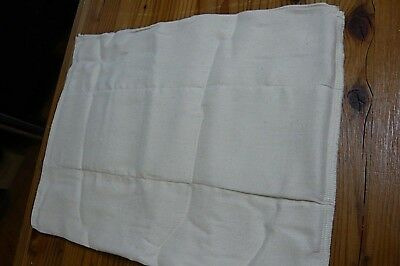 6 PC.-OSO COZY UNBLEACHED COTTON CLOTH PRE FOLD DIAPERS-Sz.1- 7-15 Lbs.-12 x 16""
