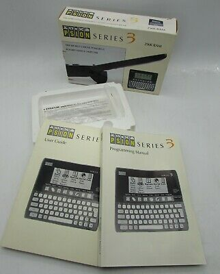 Box & Manuals for PSION SERIES 3 256k Ram