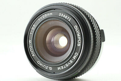 *Exc* OLYMPUS G.ZUIKO AUTO W 28mm F3.5 Wide Angle Prime Lens from JAPAN #55