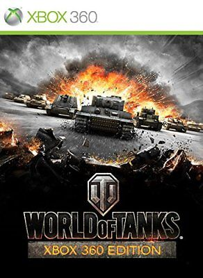 Xbox 360 Onlinespiel World Of Tanques + 30 Tage Xbox Live Gold Membresía Nuevo