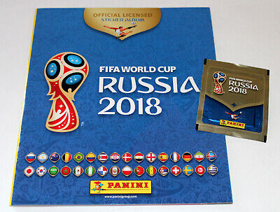 Panini WC WM RUSSIA 2018 18 INT. VERSION 670 – LEERALBUM EMPTY ALBUM Vers. 1