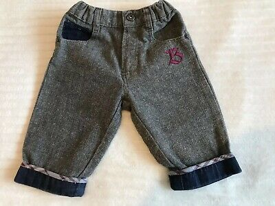 Baby Boys Genuine Burberry Jeans Age 3/6 Months