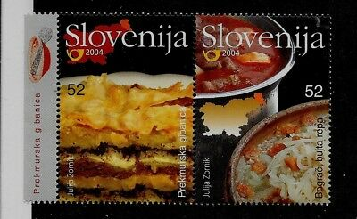 SLOVENIA Sc 580 NH issue of 2004 - FOOD