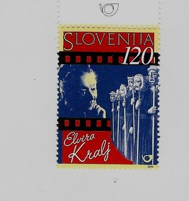 SLOVENIA Sc 387 NH issue of 2000 - ACTRESS