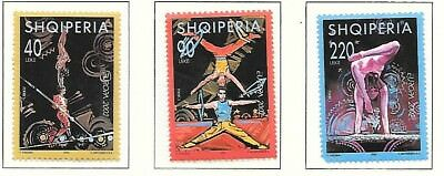 ALBANIA Sc 2672-5 NH SET+SOUVENIR SHEET OF 2002 - EUROPA
