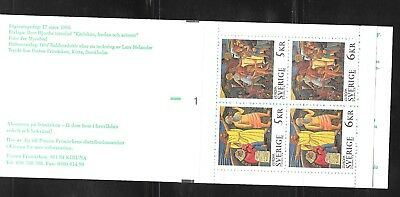 SWEDEN Sc 2119 NH BOOKLET of 1995 - EUROPA