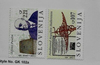 SLOVENIA Sc 515-6 NH issue of 2003 - FAMOUS MEN
