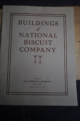 1912 *NEAR MINT* Buildings of National Biscuit Company NABISCO