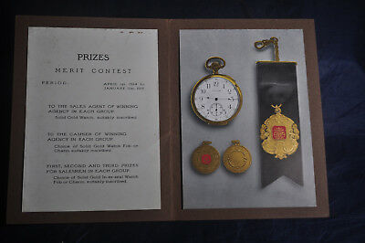 1915 Prizes Merit Contest Inner Seal Nabisco
