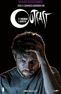 Outcast #1 Sdcc San Diego Comic Con Photo Variant Cover Comic Book Image Tv Show