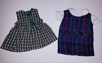 school uniform dress 18 inch doll outfit fits American girl