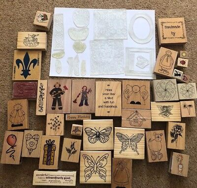 Wooden And Acrylic Stamp Selection