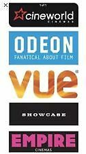 2-for-1 CINEMA CODE FOR TUESDAY 26th OR WEDNESDAY 27th MARCH 2019