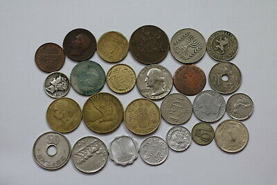 World Coins Useful Lot With Silver A99 Sze5