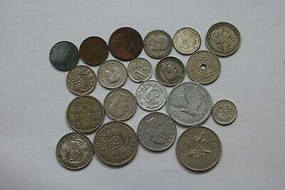 World Coins Useful Lot With Silver A99 Szg12