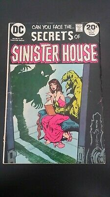 1972 Dc Comics Secrets Of Sinister House #15 Vg- Flat Rate Shipping