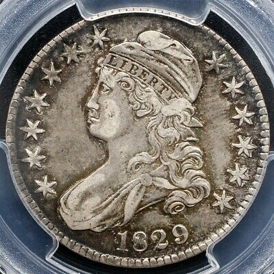 1829 Capped Bust Half Dollar Overton O-117 - PCGS XF45 - CAC Certified