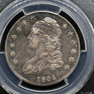 1834 Capped Bust Half Dollar Overton O-115 - PCGS XF40 - Sm. Date / Sm. Letters