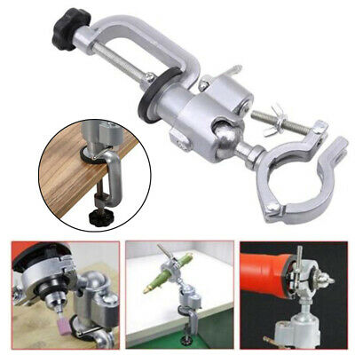 Clamp-on Grinder Holder Bench Vise f// Electric Drill Stand Rotary Tool 250mm