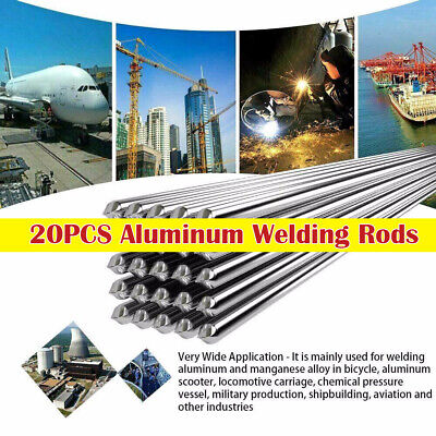 20PC1.6/2.0MM Easy Aluminum Welding Rods Low Temperature - No Need Solder Powder
