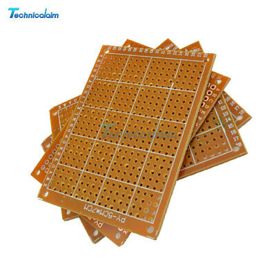 5PPC 5cm  x 7cm  Prototype Paper PCB for Universal Board Prototyping Pcb DIY Kit