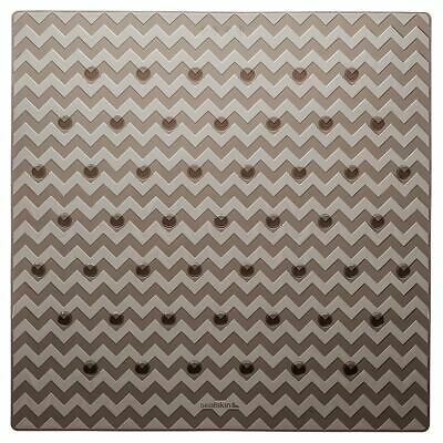 Sealskin Alfombrilla de Seguridad Baño Leisure 53x53 cm de Color Gris315242614