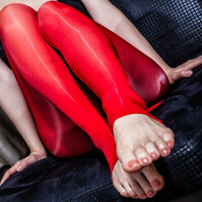 8D Women Ultra Elastic Shiny Glossy Stockings Footless Pantyhose Lingerie Tights